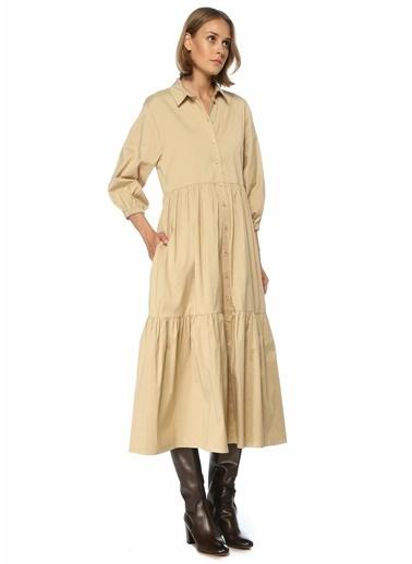 Beymen Club Elbise Bej